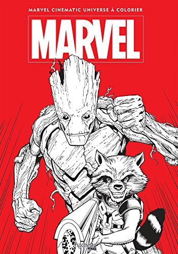 Grand coloriage Marvel Tome 2