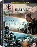 Chappie / District 9 / Elysium - Set [3 DVDs]...Vergleich