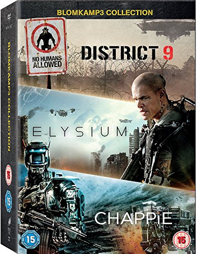 elysium dvd Chappie / District 9 / Elysium - Set [3 DVDs] [UK Import]