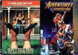 Babysitting Pack Don't Tell Mom Adventure 2 Movie DVD The Babysitter's Dead & Adventures in Babysitting Double Feature