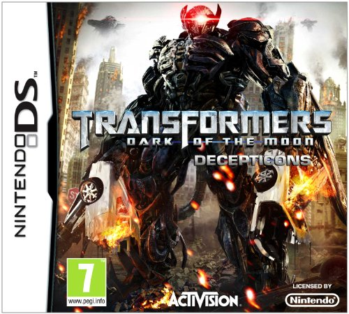 [UK-Import]Transformers 3 III Dark Of The Moon Decepticons Game DS