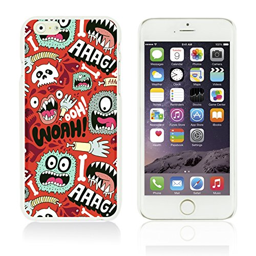 OBiDi - Funny Pattern Hardback Case / Housse pour Apple iPhone 6 Plus / 6S Plus (5.5)Smartphone - A TO Z WOAH