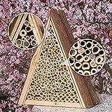 Gardigo Bienenhotel, Bienen-Insektenhotel, Bienenhaus zum Nisten und Überwintern - 5