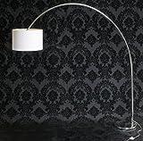 Design BOGENLEUCHTE ROMA weiß / stilvoll und elegant / Blickfang für Ihr Zuhause