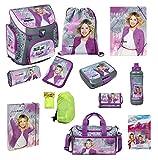 Disney Violetta Schulranzen Set 16tlg. Sporttasche