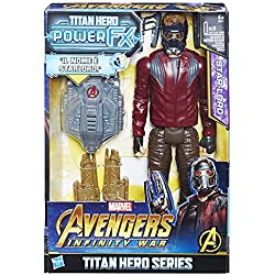Hasbro Marvel Avengers - Infinity War Star-Lord Titan Hero Power FX, Figurine 30 cm, Figurine, e0611103