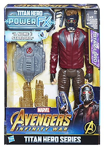 Hasbro Marvel Avengers Infinity War Star-Lord Titan Hero Power FX (Personaje 30 cm, Action Figure), 30 cm, e0611103