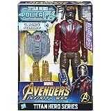 Avengers: Infinity War - Star-Lord Titan Hero Power FX (Personaggio 30cm, Action Figure), E0611103