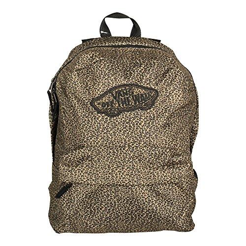 Mochila Vans – Realm Backpack Mini Leopard dorado/negro/multi