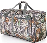 "Bago Duffle Bag For Travel Luggage Gym Sport Camping – Lightweight Foldable Into Itself Duffel 22"" (Large 27"", Camo)"