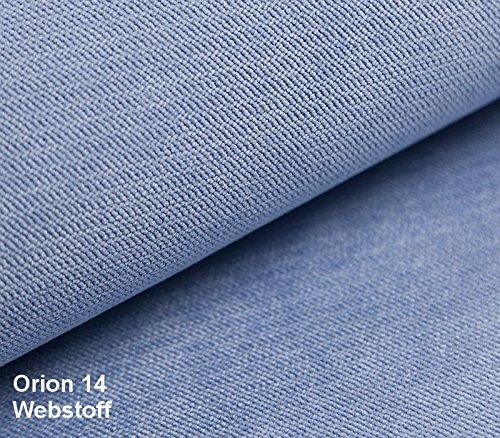 mb-moebel Sofa Chesterfield 2-Sitzer Couch im englischen Stil mit Federkern-Polsterung Vintagesofa Retrosofa Chesterfield Blau