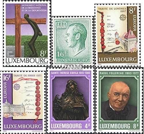 Prophila Collection Luxemburgo 1050,1054-1055,1056-1057...