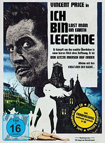 Ich bin Legende - The Last Man on Earth - Mediabook (+ Bonus-DVD) (+ CD-Soundtrack) [Blu-ray] [Limited Edition]
