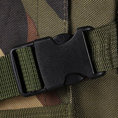Homdox US Assault Pack Large (Rucksack), Abnehmbare Außentasche, Bergsteigen Taschen, Fahrradtaschen , Sporttaschen,ca. 36-55L , 5 Farben ACU