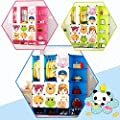 NEW Kids 2017 New Design 12 Cubes Wardrobe Childrens Storage Cabinet Boxes Character Design Shoes Storage Corner Storage Cubes Pink Green Blue - cheap UK light store.