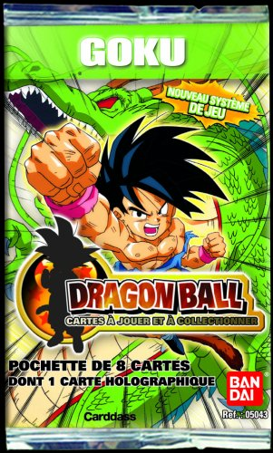 Karten Dragon Spielen Z Ball (Bandai – Dragon Ball Karten – 5043 Sammelkarten, Booster Super Serie 1 Goku Display – 8 Karten)