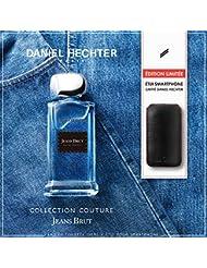 DANIEL HECHTER Coffret Parfum Jeans Brut 100 ML avec Etui pour Smartphone