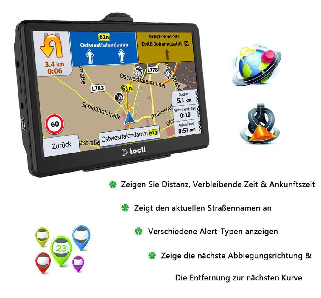 Navigationsgerte-fr-Auto-7-Zoll-Navigation-fr-Auto-Navi-LKW-PKW-mit-Blitzerwarnung-Sprachfhrung-Fahrspurassistent-tragen-2019-Deutschland-usw-49-EU-Karten-und-Lebenslang-Kostenloses-Kartenupdate