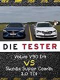 Die Tester: Volvo V90 D4 vs Skoda Super Combi 2.0 TDI