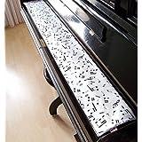 Tastenläufer für Klavier, Tastatur Musik