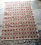 silkroude Muster, Kelim Teppich handgefertigt Kelim Teppich Türkisch Teppich Baumwolle Dhurrie Hand Made Kelim Teppich