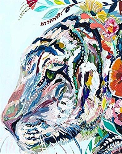 YCYLYZ Wandfiguren sehen gut aus Einzigartige Gemälde Bilder Acryl DIY Einzigartiges Geschenk - Kinder Schmetterling & Blue Eye Ölgemälde40x50CM
