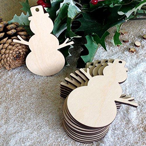 ann Form hölzerne verzieren Weihnachtsbaum hängende Verzierung Weihnachtsdekoration Anhänger (Halloween Herzstück)