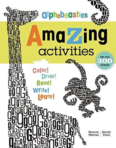 Alphabeasties Amazing Activities