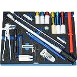Heytec 50829005700 Werkzeug-Satz'KFZ' 17-teilig