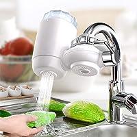 Système de Purificateur de Robinet, minghaoyuan Filtre à eau pour Robinet de Cuisine, Purificateur d'eau du Robinet à la…