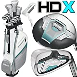 Wilson Prostaff HDX Damen Golf Komplett Set + Cartbag + Geschenk NEW