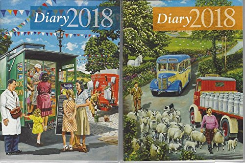 Salmon 2018 pocket diary.Countryside Memories by Trevor Mitchell. Soft back diary with a protective clear cover. Size: 98 mm x 130 mm.Price is for one diary.The diary will be randomly selected from the two designs shown.