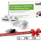 Beruhigungs-Zäpfchen® für Wolfsburg-Fans | Lakritz-Zäpfchen für VFL Wolfsburg-Fans zur Einnahme bei Niederlagen | Braunschweig, Hannover & Fußball-Fans Aufgepasst witzige Fanartikel & Geschenke