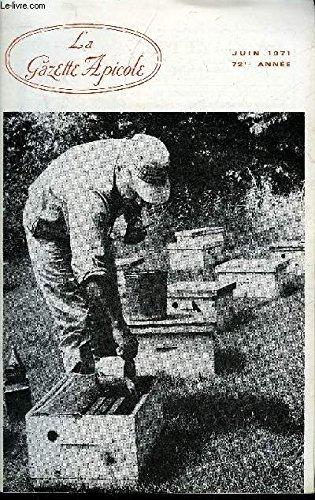 LA GAZETTE APICOLE N° 767 Alin Caillas : Le miel vaincra-t-il le cancer?Louis Roussy : Pérennité des fourmisImportance de l'écologieDr Douhet : Apiculture Sénégalaise. Situation et perspectiveO. Goens et J. Maes : Le sphinx tête de mort par ALPHANDERY EDMOND / ALPHANDERY GEORGES