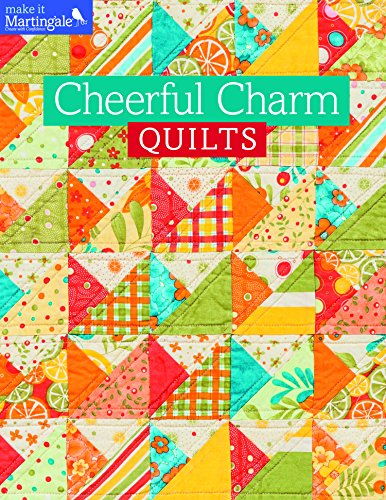 Cheerful Charm Quilts (Make It Martingale) (Englisch Martingal)