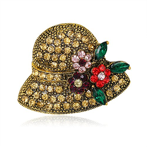 949dcb52b07 Rétro élégant de la mode la mode Brillant magnifique broche Pins dos  brillant rétro Fashion Fashion