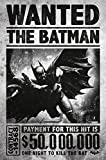 BATMAN Arkham Origins Wanted Póster