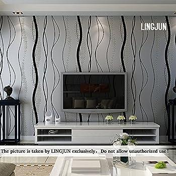 10m 3D Optik Europäische Vliestapete Wand Tapeten Dekoration ...