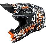0583M-302 - Oneal 7 Series EVO Menace Motocross Helmet S Neon Orange