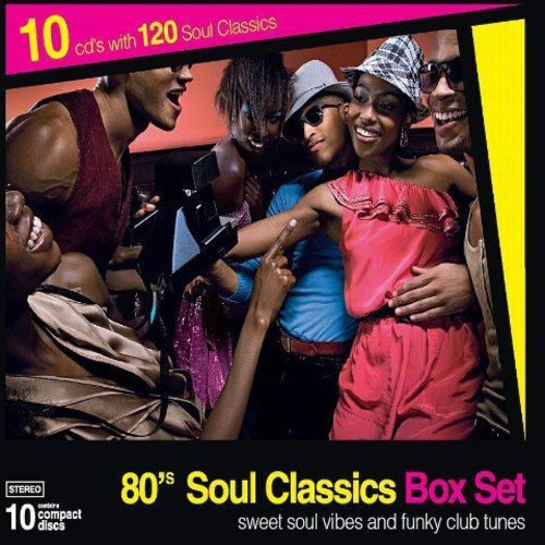 80's Soul Classics - sweet soul vibes and funky club tunes