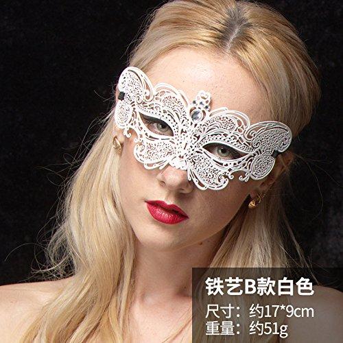HXX Halloween Maske sexy erwachsen erotische Maske Gesicht Masquerade Gruppe schwarz schönheit Schmetterling weiß