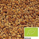 1kg Bio Maulbeeren weiß getrocknet, leckere Trockenfrüchte ungeschwefelt und ungezuckert aus kbA