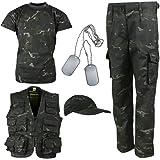 Kombat UK Explorer Kit Ejército, Bebé-Niños