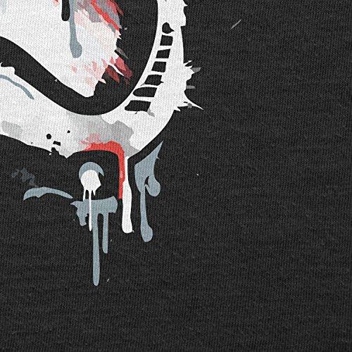 TEXLAB - Signed Trooper Painting - Herren T-Shirt Schwarz
