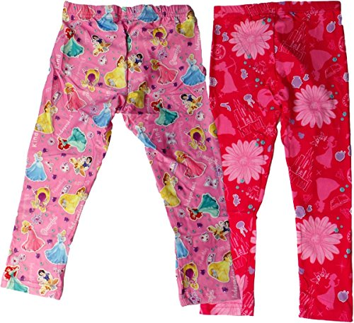 Disney Princess Leggings mit Motiv - 2er Pack -