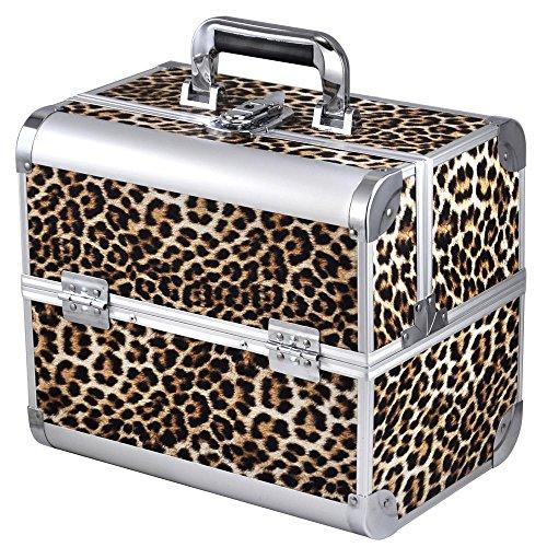 chinkyboo - Neceser, diseño de maletín leopardo M