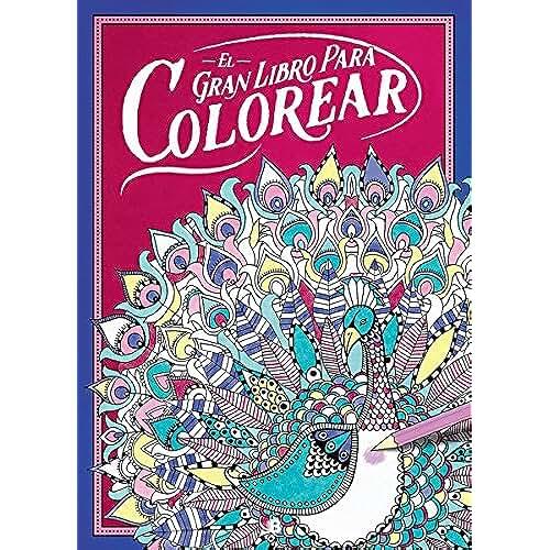 jirafa kawaii para colorear y mas El gran libro para colorear (VARIOS)