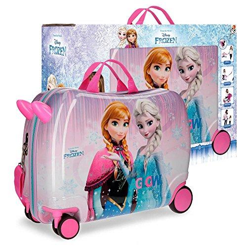 Disney fantasy valigia per bambini, 50 cm, 34 liters, rosa