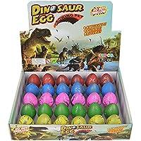 Huevos de Dinosaurio Toy Novedad Eclosión Huevo de Dinosaurio para Niños Paquete de Gran Tamaño DE