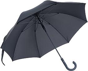 vanVerden Großer Automatik Regenschirm, Teflon Beschichtung, Windsicher, leicht und extra stabil aus Fiberglas / 112cm Durchmesser, 90cm Länge